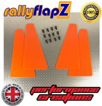 UNIVERSAL MINIFLAPZ  / SPLASH GUARDS - ELECTRIC ORANGE